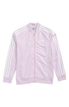 Main Image - adidas SST Track Jacket (Big Girls) Birthday Wishlist, Ss 15, Adidas Jacket, Nordstrom, Sporty, Athletic, Big, Track, Jackets