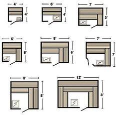 Sauna plans, kits, controls and accessories. Build your own home sauna Jacuzzi, Diy Sauna, Sauna Steam Room, Sauna Room, Saunas, Basement Sauna, Sauna Shower, Sauna House, Sauna Design