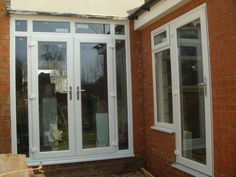 Acheson Road, Shirley, Solihull, B90.  New French doors and kitchen door installed.