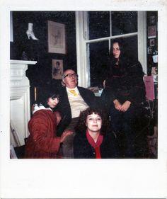 //Clockwise from left: Patti Palladin, John Betjeman, Tamasin Day-Lewis, Gina Louthan. (c) Jonathan Ross//  http://www.paulgormanis.com/wp-content/uploads/2013/05/6.jpg