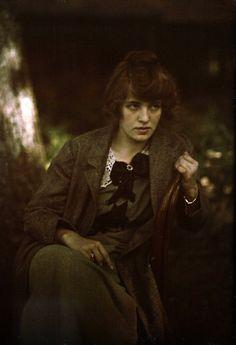 Alfred Stieglitz, Portrait of Flora Stieglitz Straus (1915)