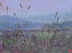 """The Fields#2 by Kathy McDonnell Pastel ~ 6"""" x 8"""""""