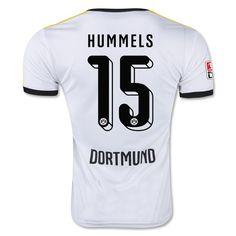 Borussia Dortmund 2015 16 3RD Away Men Shirt HUMMELS  15 be484aee4c6ce