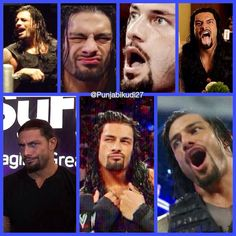 The Many faces of Roman Reigns #WWE