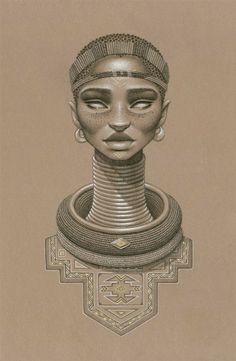 african sun goddess, nomalanga