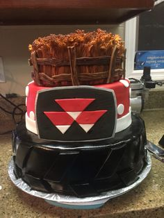 Tractor Cakes Tractors And Cakes On Pinterest