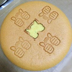 I spoilt my smooth cake top with a maiden stamp with my new logo embosser lol!