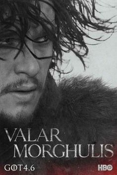 "Jon Snow | These New ""Game Of Thrones"" Posters Will Give You A Sense Of Foreboding"