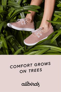 The Allbirds Tree Skipper—a shoe that's built from nature and fits seamlessly into any situation.
