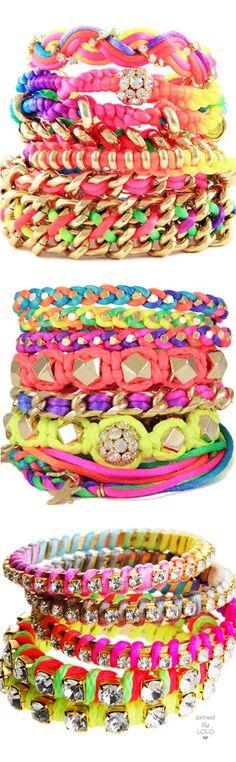 Neon Bracelets   LOLO❤︎