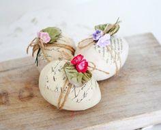 lovely rustic Easter eggs