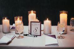 Urban Bohemian Wedding - Purple - Tablescape - Reception