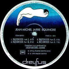Jean-Michel Jarre - Equinoxe FRANCE Lp vg++