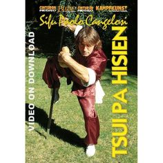 DVD Kung Fu Tsui Pa Hsien style de l´homme ivre - Budo International