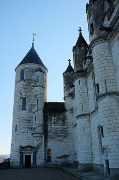 La Tour Agnès Sorel et le logis royal du château de Loches