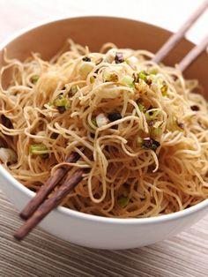 Recette chinoise: nouilles sautées