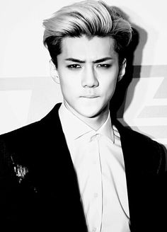Sehun you make me want to cry. Half happy tears because someone so gorgeous exists. Half sad tears because you live half way around the world and don't speak my language.
