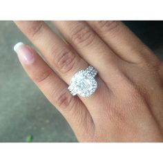 Wedding ring with engagement ring