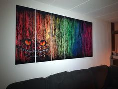 Pixel Art, Tapestry, Night, Artwork, Painting, Home Decor, Hanging Tapestry, Tapestries, Work Of Art