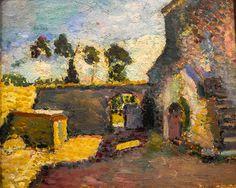 Henri Matisse - Corsica, Old Mill, 1898 at Wallraf-Richartz Museum Cologne Germany |