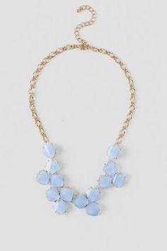 Penny Textured Statement Necklace