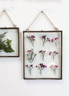 """Decorative Hanging Metal Wall Frame with Glass Insert<br>8"""" x 10.5"""""""
