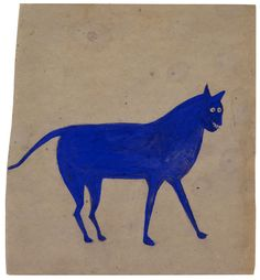 Bill Traylor-former slave, factory worker & homeless man created 1800 images between 1939-1942. (inspiring :-)