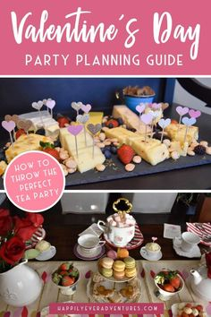 How To Throw a Valentine's Day Tea Party How to host a Valentine's Day Tea Party for your friends and family. All the easy recipes, game ideas, and other entertaining and party planning tips for the perfect Valentine's Day tea party. Game Ideas, Party Ideas, Candy Crafts, Easy Entertaining, Valentines Day Party, Candy Recipes, Perfect Party, Easy Peasy, Party Planning