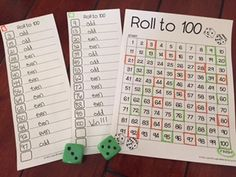 Inspired Elementary: Roll to 100!