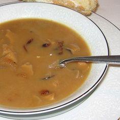 Machanka : Slovak meatless sour mushroom soup traditionally served on Christmas Eve