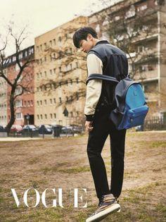 SHINee Minho - Vogue Magazine May Issue '16