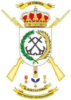 """RINF 4- Regimiento de Infantería """"Nápoles"""" Nº 4 de Paracaidistas"""