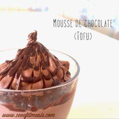 1000 Fit Meals: Mousse de Chocolate Light con Tofu.