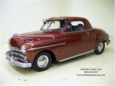 1948 plymouth business coupe - Google Search