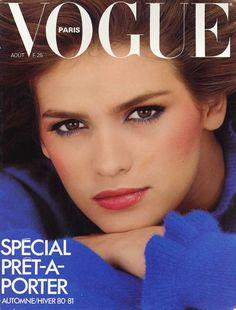 Gia Carangi by Albert Watson Vogue Paris August 1980