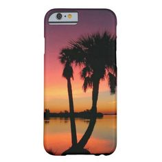 Gorgeous Ocean Inlet Sunset iPhone Case Barely There iPhone 6 Case