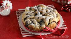 Torta+ricciolina+di+pan+brioche+alla+nutella,+video+ricetta