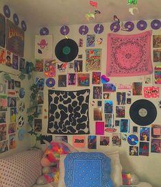 Indie Room Decor, Cute Bedroom Decor, Room Design Bedroom, Aesthetic Room Decor, Room Ideas Bedroom, Indie Dorm Room, Diy Bedroom, Bedroom Inspo, Aesthetic Indie
