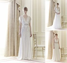 Lots of #Gatsby inspiration in this #Spring14 collection from @Jenny Packham