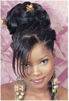 54 Meilleures Images Du Tableau Coiffure Mariage Black Hair Down