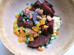 Roasted Beet & Quinoa Salad with Dried Apricots and Almonds » Not Eating Out in New York