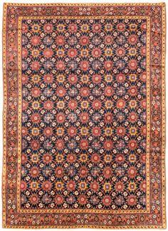 Nord-Ouest Persique Antique Nombre Tapis 10243, Antique tapis persans | Woven Accents