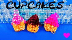Rainbow Loom, Loombands Tutorial, Loom Craft, Diy Inspiration, Cupcakes, Loom Bands, Crafts, Youtube, Children Toys