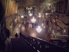 Wieliczka Salt Mine - this chapel underground is still used every Sunday for Mass - everything you see is made of salt even the chandeliers!  #saltmine #salt #mine #krakow #poland #salty #chandelier #architecture #archilovers #stairs #adventure #underground #deep #church #old #design #chapel #trippics #instapic #instagood #explore #travel #architectureporn #history #historicalvibes #picoftheday #photograph #photo #wonderful_places by sophiejowatson