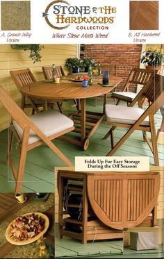 View The Outdoor Interiors 7 Piece Folding Patio Set At Amazon.com
