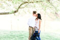 engagement photos with dogs in Lynchburg va