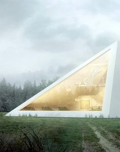 Juan Carlos Ramos- Glass pyramid house