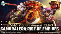 Samurai Era Rise of Empires | Gameplay for Android and iOS | Turn Base | Gamesoda - YouTube Free Mobile Games, Samurai, Ios, Empire, Android, Adventure, Youtube, Adventure Movies, Adventure Books