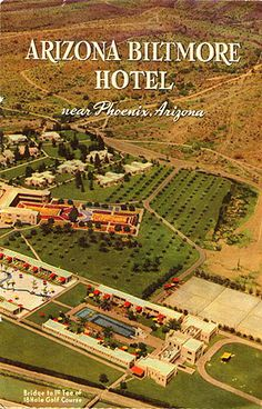 Arizona Biltmore, Frank Lloyd Wright Buildings, Deconstruction, The Good Old Days, Geography, Booklet, 1930s, Phoenix, Coast