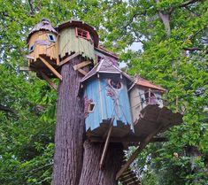 """Sur un arbre perché : de superbes cabanes """"faites maison"""""""